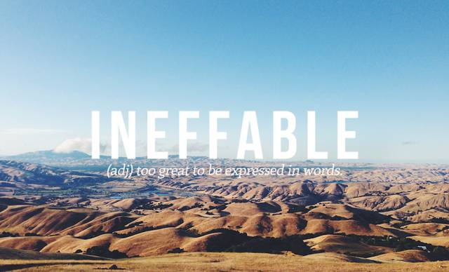 Beautiful Sounding English Language Words That You May Never Have Used before