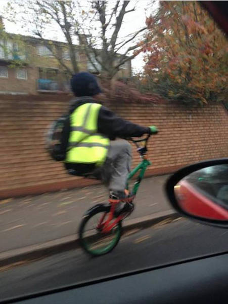 Even a Boring Daily Commute Sometimes Has Bizarre Moments Like These