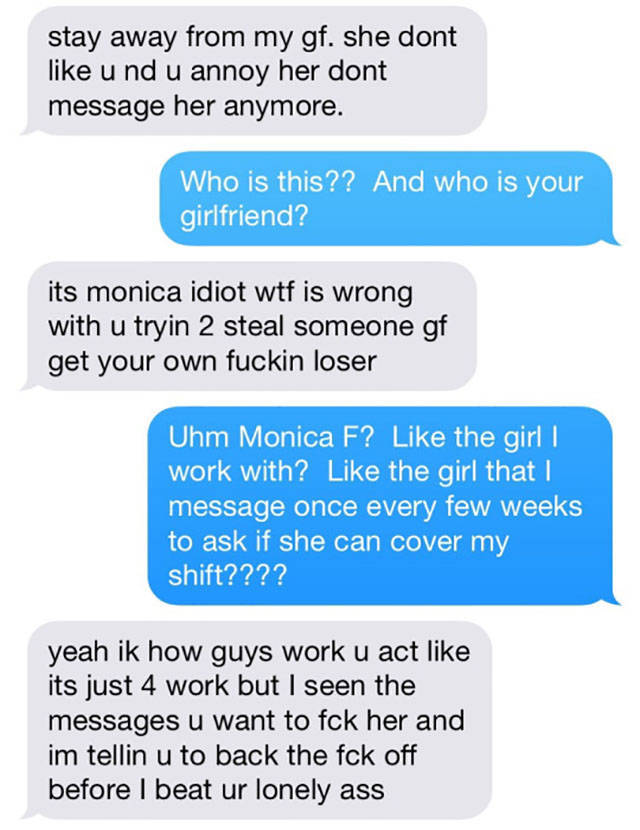 Possessive Boyfriend Gets Put in His Place by Girlfriend's Bold Colleague