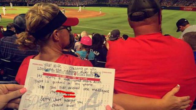 Cheating Woman Gets Outed on Twitter by Concerned Strangers