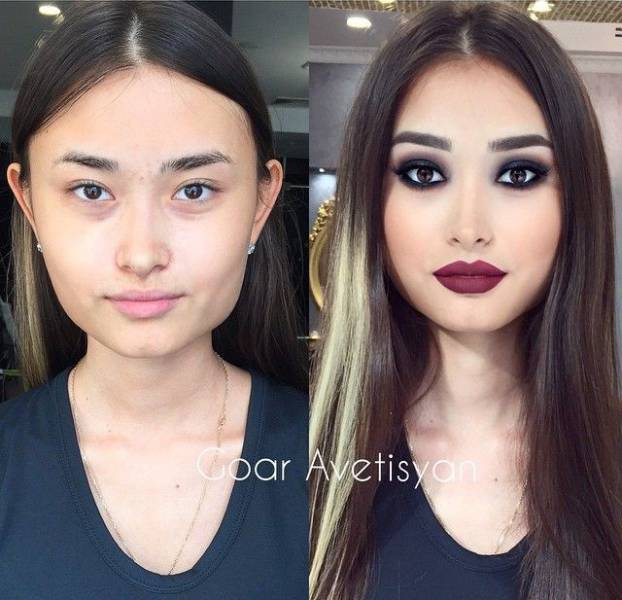 Radical Makeup Makeovers