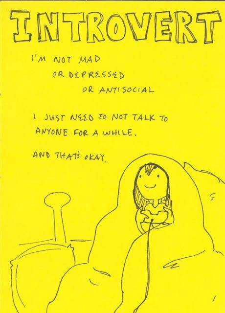 Introverted People are a Breed of Their Own