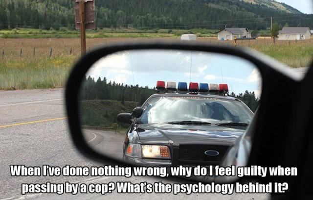 The Main Psychological Reason Why People are Scared of the Police