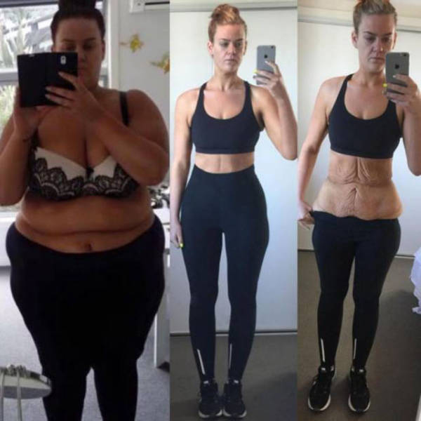 Woman Causes a Weight Loss Controversy but Then Owns Her Haters Online