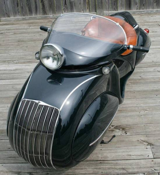 A Motorcycle That Is Like No Other Ever Made