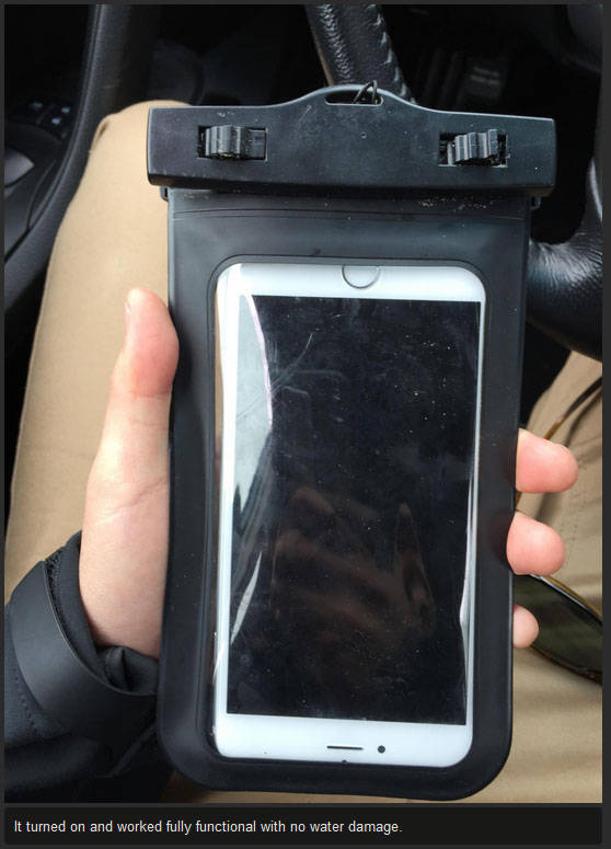 Diver Finds a Lost iPhone in the Middle of the Ocean and Returns It to Its Owner