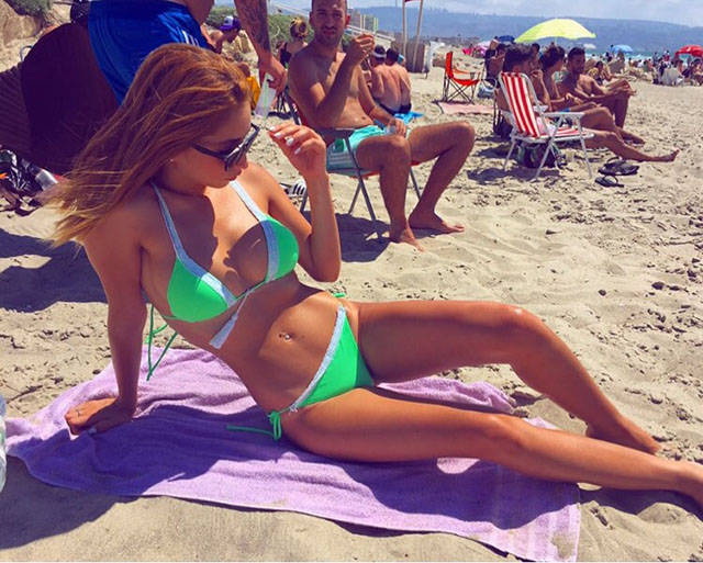 This Army Officer Has Missed Her Calling as a Bikini Model