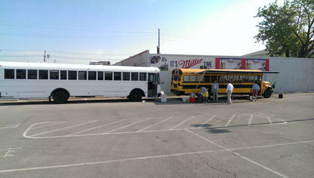 College Grads Transform an Ordinary School Bus into an Awesome Motor Home