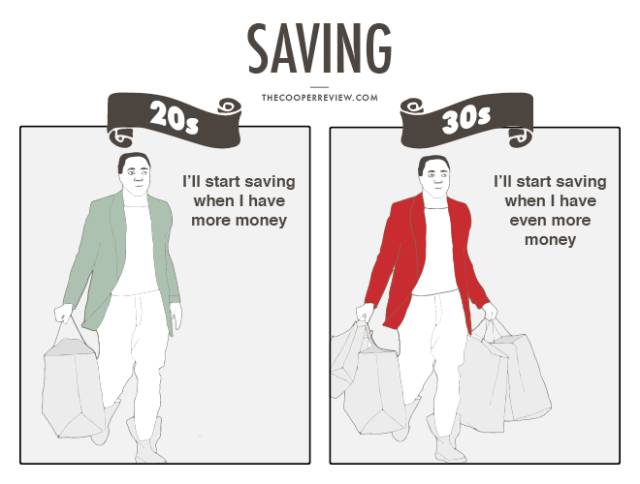 The Main Differences in the Way You View Money in Your 20s vs. in Your 30s