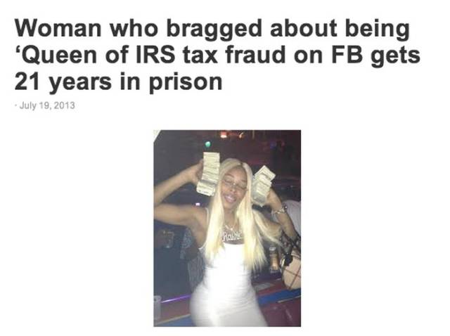 Dumb Criminals Who Actually Outed Their Own Crimes on Facebook