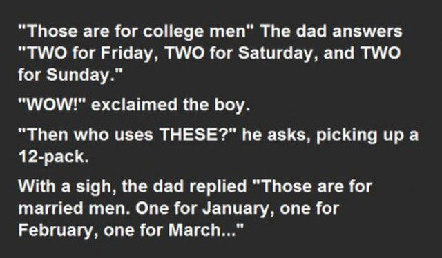 Father Answers His Son's Questions about Condoms in the Most Unexpected Way