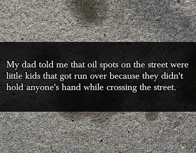 Outrageous Lies That Kids Have Been Told by Their Parents at One Time or Another