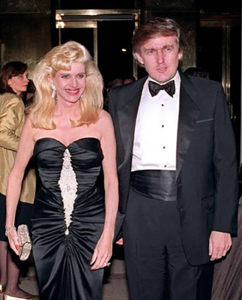 A Time Hop Photo Journey of Donald Trump Then and Now