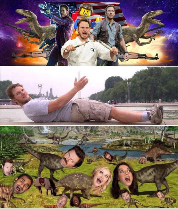 Chris Pratt Needed a New Facebook Header So He Asked the Internet for Help