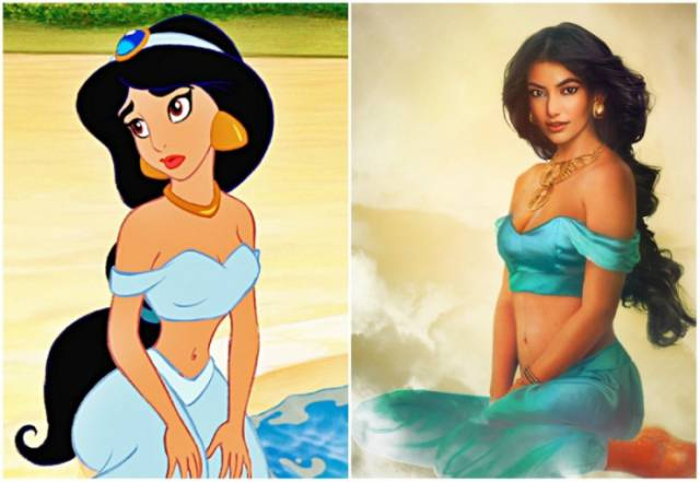 Finnish Artist Brings Popular Disney Princesses to Life