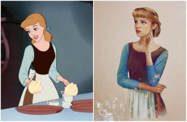 Finnish Artist Brings Popular Disney Princesses to Life