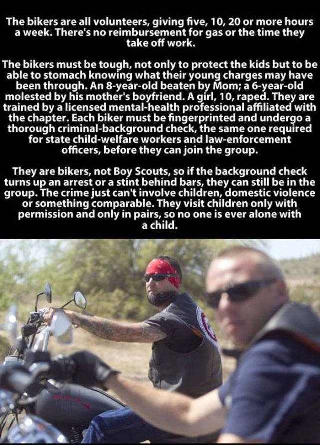 A Tough Biker Gang with a Special Heart-warming Mission