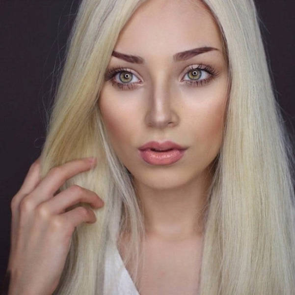 Stunning Girl Dramatically Transforms Her Looks with Hair and Makeup