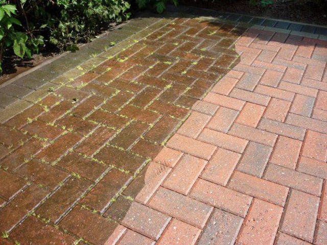 A Good Power Wash Can Totally Transform Just about Anything