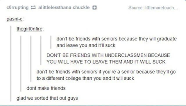 Amusing Pics That Sum Up High School Life Perfectly