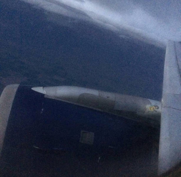 Delta Pilot Gets Hit by Golf Ball Sized Hail and Has to Land Blind