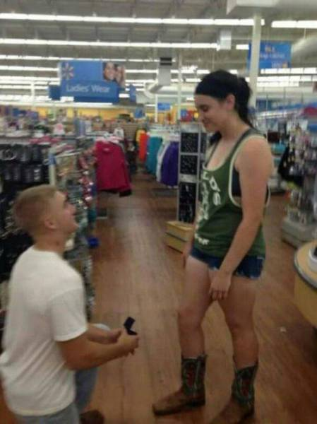 Marriage Proposals That are Definitely Not Classy