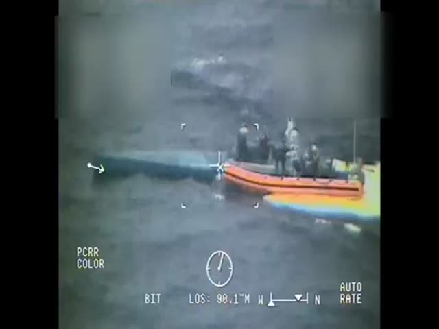 Private Submarine Transporting 181 Million Dollars worth of Drugs Gets Caught by Coast Gaurd