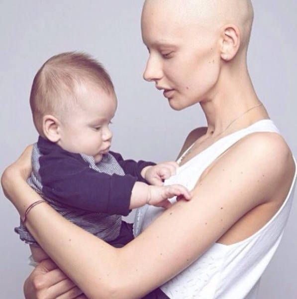 Canadian Model Returns to Work after Saving Her Baby and Kicking Cancer's Ass