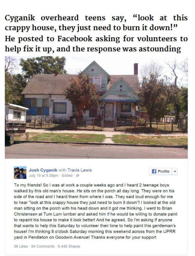 Caring Stranger Does Something Amazing for a 75 Year Old Man