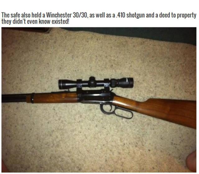 Reddit User Finds Seriously Cool Stash in Grandma's Safe