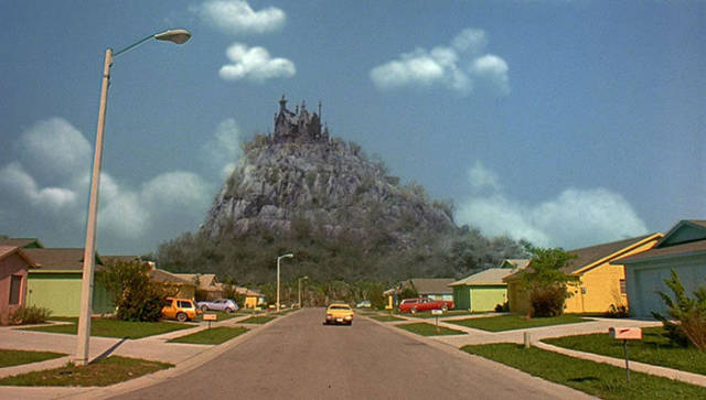 The Edward Scissorhands Neighborhood Over Two Decades Later