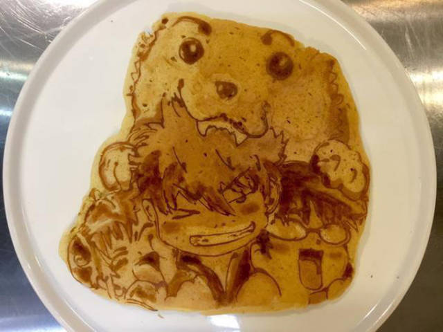 The Pancake Artist Who Crafts Masterpieces out of Batter