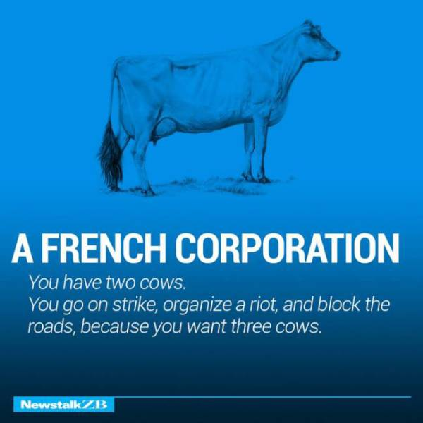 Two Cows Explain the World Economies in Simple Terms