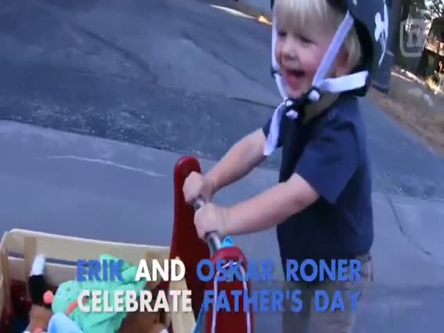 An Epic Way to Celebrate Father's Day
