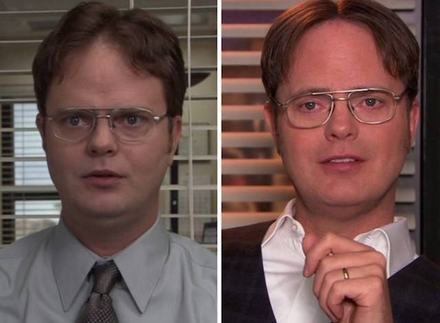 "The ""Office"" Cast Then and Now"