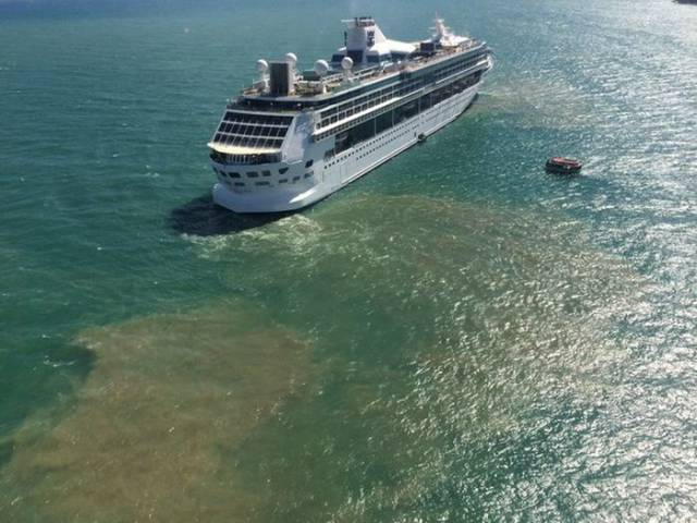 Cruise Ships Dump Tons of Human Waste into the Ocean Every Year