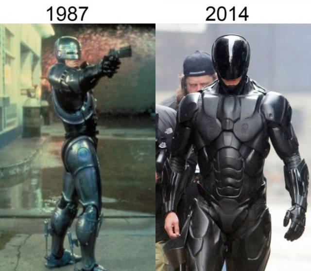 A Fun Then and Now Comparison of Original Movies and Their Recent Remakes