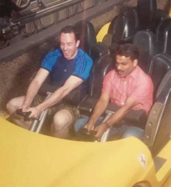 Cab Passenger Treats the Driver to a Day at a Theme Park
