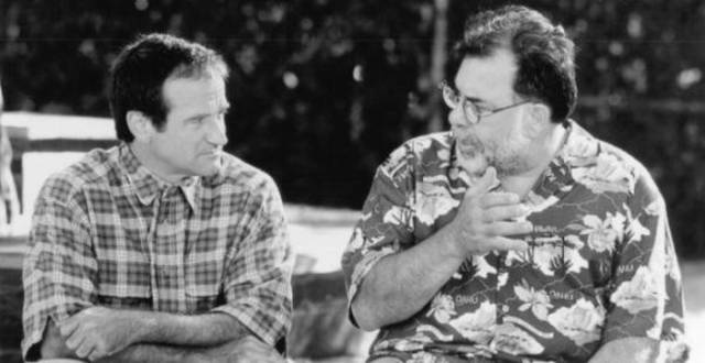 Rarely Seen Pics of Robin Williams on the Sets of His Major Movies