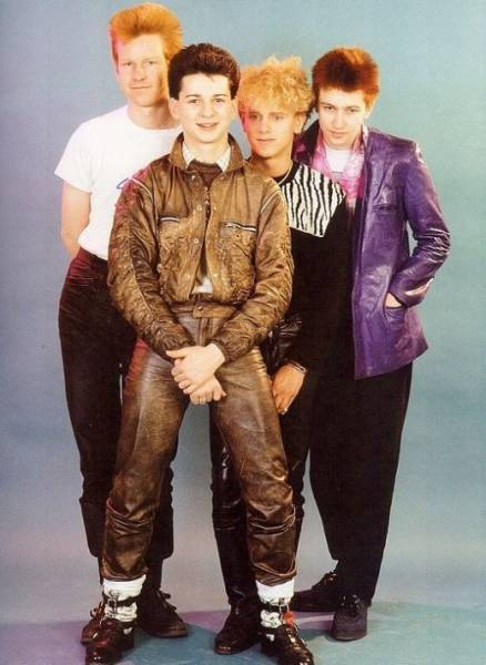 Cool Comparison Photos of Depeche Mode Then and Now