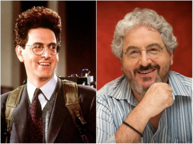 """The """"Ghostbusters"""" Cast Three Decades Later"""