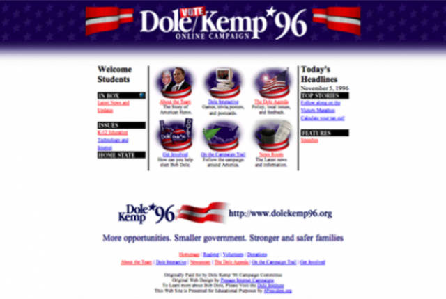 The Worst Websites from the 90s