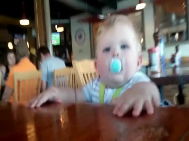Toddler Tries His First Lemon
