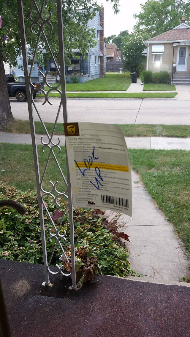 A UPS Delivery Guy That Went the Extra Mile