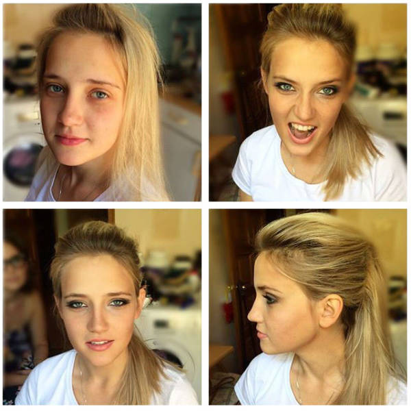 Makeup Makes a Major Difference to These Girls Natural Looks