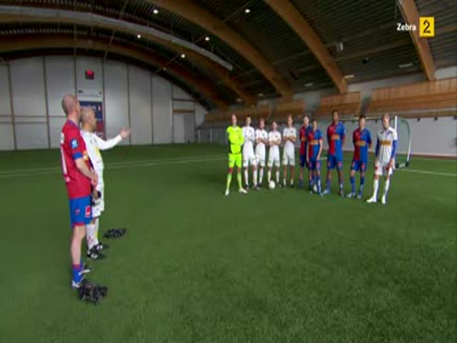 Norwegian Football Teams Play a Game Using Video Glasses and the Result Is Hilarious