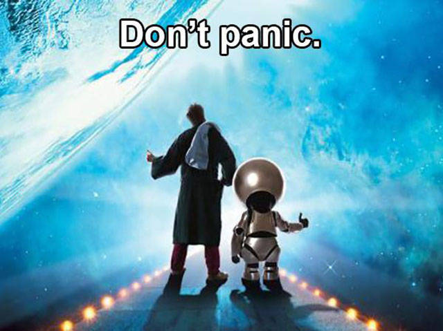"Memorable Phrases from ""Hitchhiker's Guide to the Galaxy"""