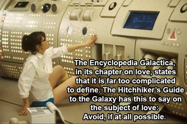 """Memorable Phrases from """"Hitchhiker's Guide to the Galaxy"""""""
