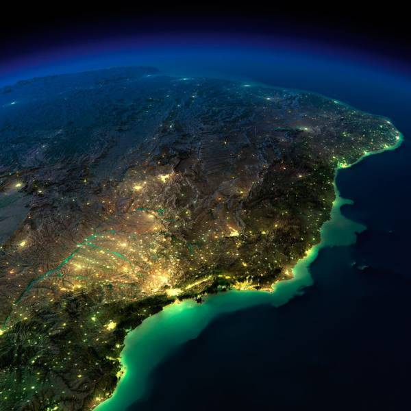Spectacular Night Time Images of Planet Earth