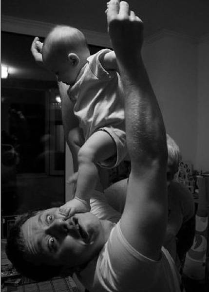 Dads Make Parenting Look Effortless